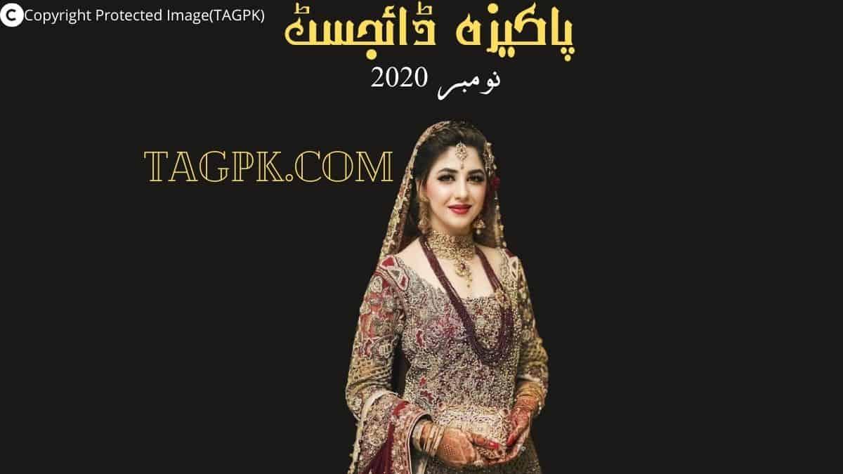 Pakeeza Digest November 2020 Free Download