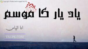 Yad e Yar Ka Mausam By Ana Ilyas Complete Novel Free Download