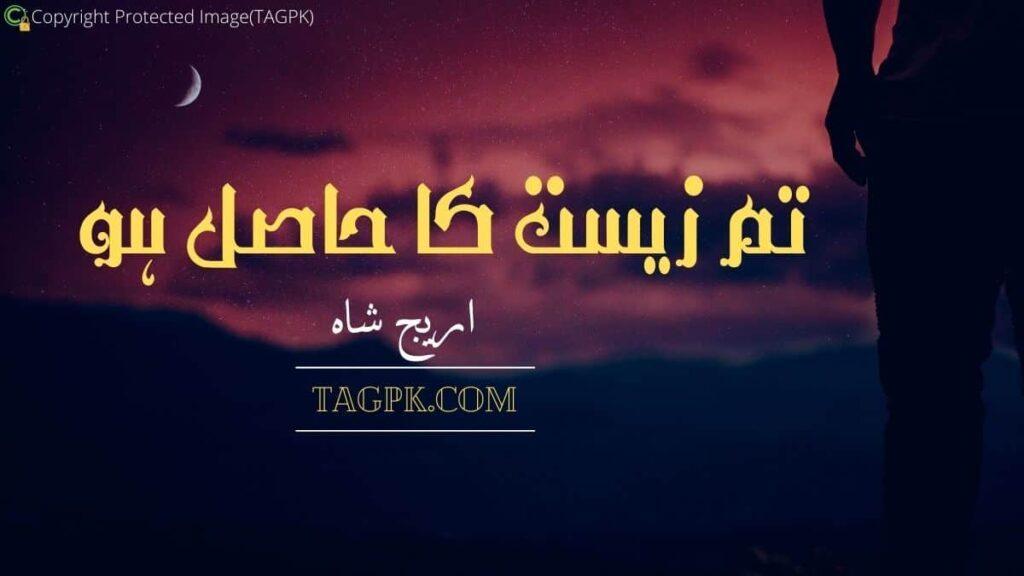 Tum Zeest Ka Hasil Ho By Areej Shah
