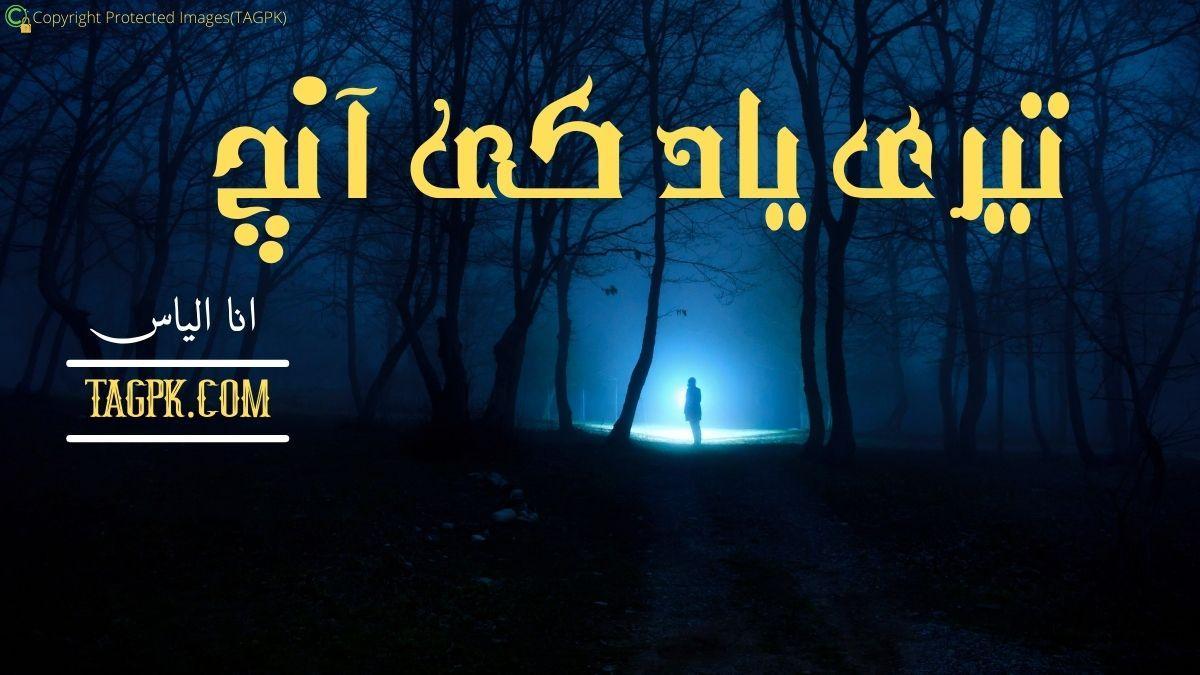 Teri Yaad Ki Anch By Ana Ilyas Complete Novel Download