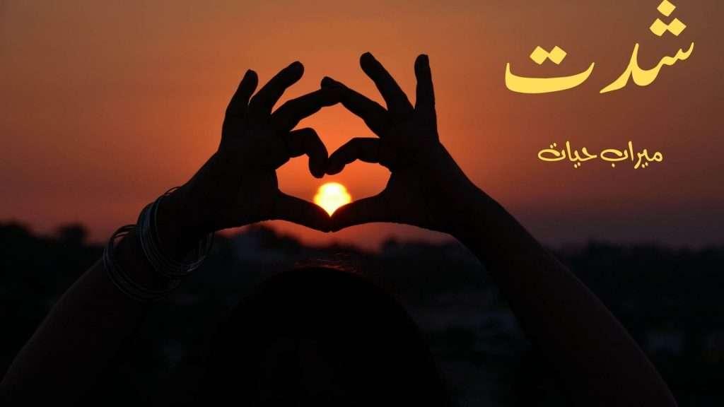 Shiddat novel by meerab Hayat