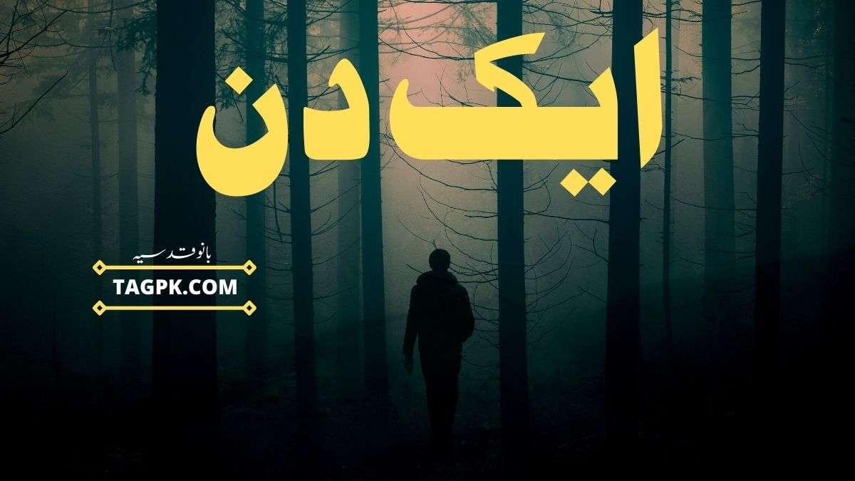 Aik Din By Bano Qudsia Complete Novel PDF Download