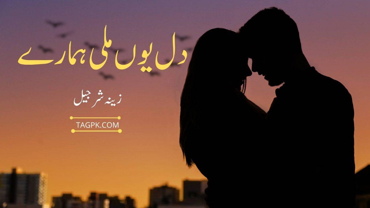 Dil Youn Mily Hamary By Zeenia Sharjeel Complete Novel